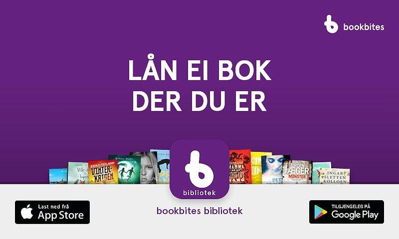 Ny app for å låne e-bøker frå 6. januar!