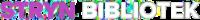 Logo Stryn bibliotek